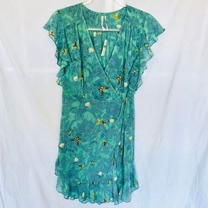 NWT Feather bone Anthropologie butterfly dress